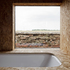 Bathroom with view to landscape