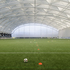 The indoor pitch is the largest in Europe