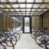 At Juxon Street a large ground-level cycle store is provided as a shared facility
