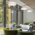Particular emphasis has been placed on daylighting and connected views into the woodland setting as ways of reducing energy use and promoting wellbeing