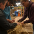 Collaborative learning, passing on the skills of thatching